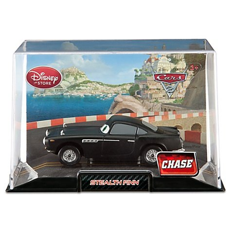 Disney Pixar Cars 2 Exclusive 1:48 Die Cast Car Stealth Finn McMissile