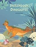 Sketchbook Dinosaur Oviraptor: Sketchbook Dinosaurs for Kids, Creative Notebook, 8 to 12 Years old, 120 pages Blank Lined Sketchbook. (Large 8.5x11 inch) Journal for Kids.
