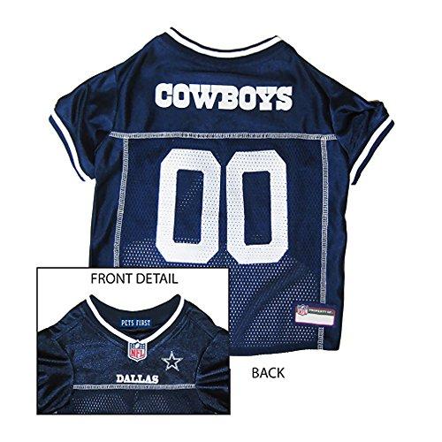 Pets First Dallas Cowboys NFL Dog Jersey - Medium