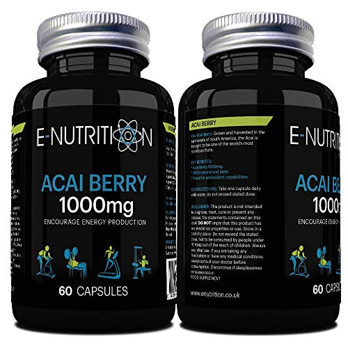 Acai Berry Capsules - High Strength - Made in UK - E-Nutrition