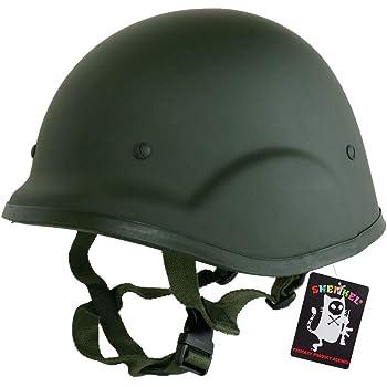 SHENKEL 自衛隊装備 88式鉄帽(テッパチ) タイプ ハードシェル ヘルメット グラスファイバー ver.2.1 OD met-010od