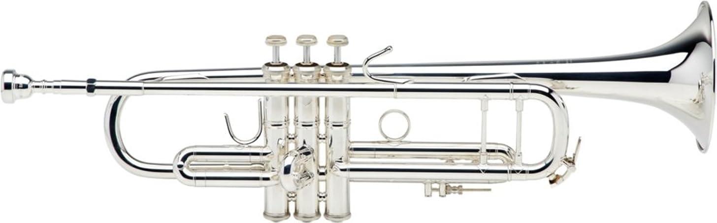 Bach 180S37 Stradivarius Series Bb Trumpet - Silver Plated