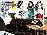 Custom Any Size Moda europea y americana Belleza Belleza Cosméticos Fondo Etiqueta de la pared Decoración para el hogar Mural Wallpaper