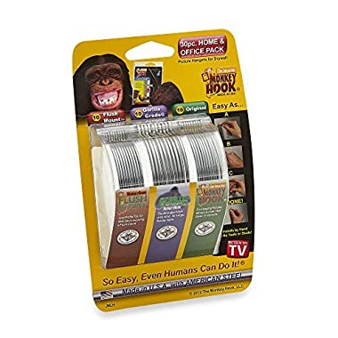 Monkey Hook Picture Hanger Home and Office Pack, 30 pc set
