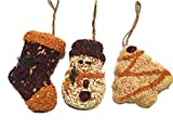 Mr. Bird Christmas Shapes Bird Seed Ornament Treats... (1)
