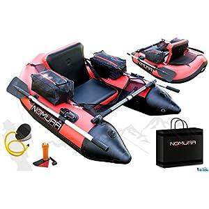 Belly Boot mit Ruder und Taschen von Nomura 170 cm
