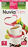 Nuvia Trim - Gourmet Instant Coffee for Weight Loss, with Garcinia Cambogia, Raspberry Ketones and Green Coffee Bean Extract, Vegan, No Sugar or Dairy, Great for Iced Coffee, 0.15oz packets(30 ct.)