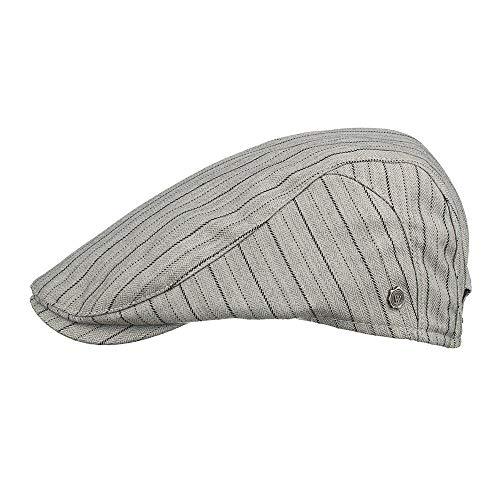 JKFJY FOLD Sombrero Vertical de Primavera y Verano, Sombrero de periódico para Hombres, Sombrero Casual, Boina