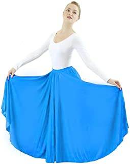 Best long full circle dance skirt Reviews