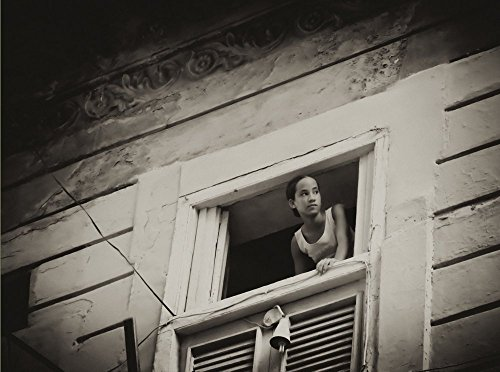 Cuba Photography, Cuban Girl, Cuba Wall Art, Cuba Art, Black and White Wall Decor