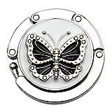 JERFER Mini Butterfly Beetle Folding Hanger Table Hook per Borsa Utility Borsa