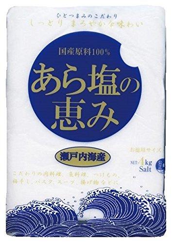 関東塩業『あら塩の恵み』