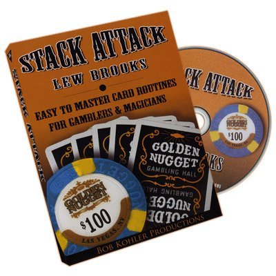 Stack Attack by Lew Brooks - DVD