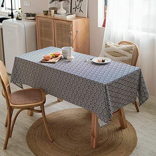TXDIRECT Table cloth Wipe clean tablecloth Garden table cloth Tablecloth Tablecloths Table cloth party Table covers Tablecloth wipe clean Wipeable table cover 140X140,2