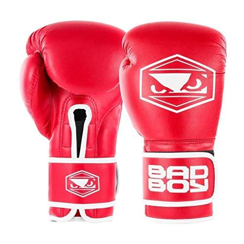 Bad Boy Strike Boxhandschuhe rot Boxen Kickboxen Striking Training Sparring von minotaurfightstore, 397 g
