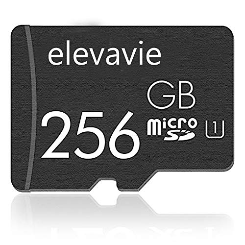 elevavie Ultra Scheda di Memoria 256 GB Micro SD Memory Card per Fotocamere Tablet e Smartphone Android