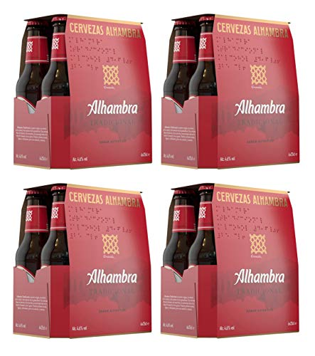 Bier Alhambra Tradicional 24x25cl (Pack 24 Flaschen)