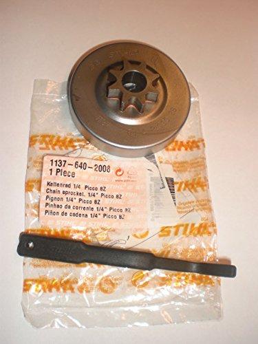 Kettenrad/Ritzel Original STIHL 1137 640 2008 für STIHL MS 193 / T/TC 1/4 Picco 8 Zähne