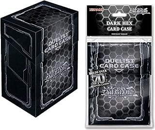 Konami Dark Hex 70 ct YuGiOh Deck Box