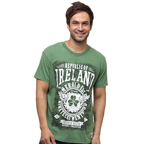 Irish Connexxion Green Republic of Ireland Celtic Nations Established Nineteen Twenty Two T-Shirt