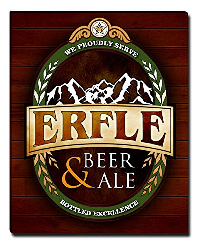 ZuWEE Erfle Beer & Ale Gallery Wrapped Personalized Canvas Print