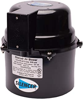Air Supply Silencer Blower Motor 1.0HP 120V 4.5 AMPS