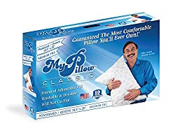 in budget affordable MyPillow Classic Pillow (Standard / Queen, White [Medium])