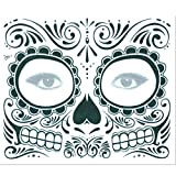 WATERMELON Etiqueta engomada del Cuerpo del Adulto de Halloween Etiqueta engomada mecánica del Tatuaje del Tatuaje Temporal Durable Impermeable de la Transferencia del Agua Maquillaje (Color : B)
