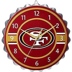 San Francisco 49ers Bottlecap Clock