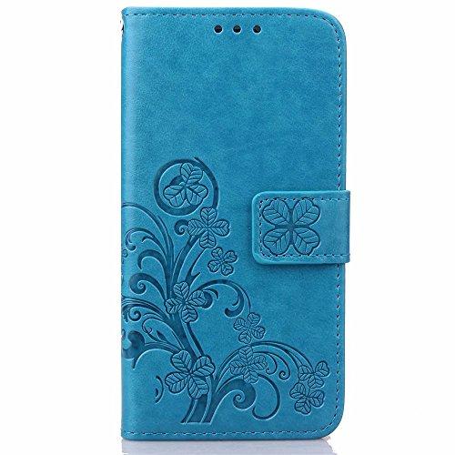 HUANGTAOLI Lederhülle Typ Brieftasche für Huawei Ascend G7