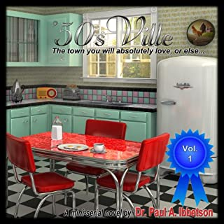'50sVille audiobook cover art