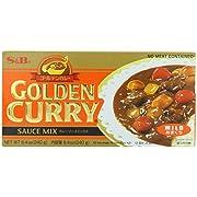 S&B Golden Curry Sauce Mix, Mild, 7.8-Ounce (Pack of 5)
