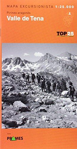 Valle De Tena 1:25000 (Top 25)