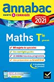 Annales du bac Annabac 2021 Maths Tle générale (spécialité):...