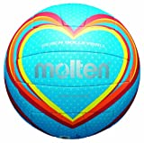 Molten Ballon de Volley V5B1501–B Bleu/Rouge/Orange Taille 5