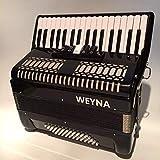 M-zutx 5 afinadores de 34 teclas 60 tecla de bajo for piano Acordeón for niños Clasificación for niños Entrada for adultos Acordeones primarios Conjunto Solo Instrumento de acordeón for niños de mader