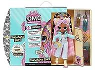 LOL Surprise OMG Fashion Doll SUNSHINE GURL - With 20 Surprises, Designer Clothes & Fashionable Acce...