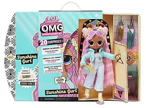 LOL Surprise OMG Sunshine Gurl Fashion Doll - Dress Up Doll Set with...
