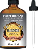 First Botany Cosmeceuticals Frankincense Essential Oil with Glass Dropper - Big 4 Fl. Oz