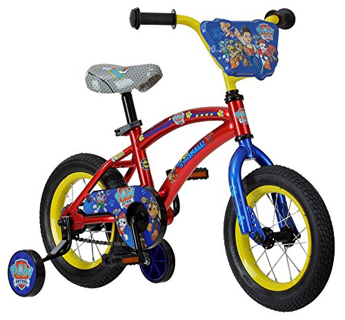 Nickelodeon Paw Patrol Bicycle With Training Wheels, 12-Inch Wheels