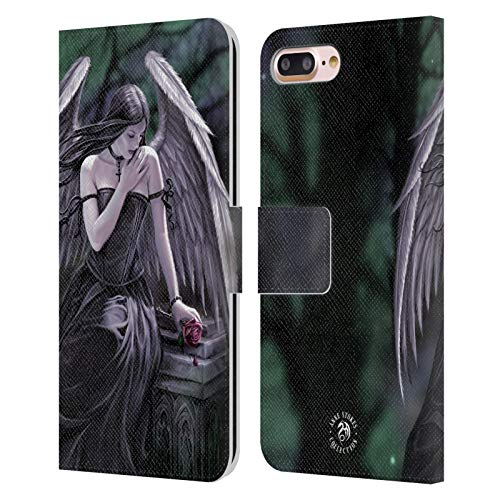 Head Case Designs Licenza Ufficiale Anne Stokes Lost Soul Angeli Cover in Pelle a Portafoglio Compatibile con Apple iPhone 7 Plus/iPhone 8 Plus