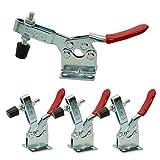 Imagine - Set di 4 pz, utensile a mano con pinza a morsetto 201B, 90 kg, capacità di tenu...