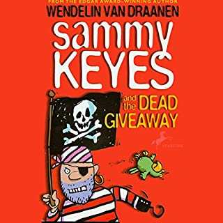 Sammy Keyes and the Dead Giveaway audiobook cover art