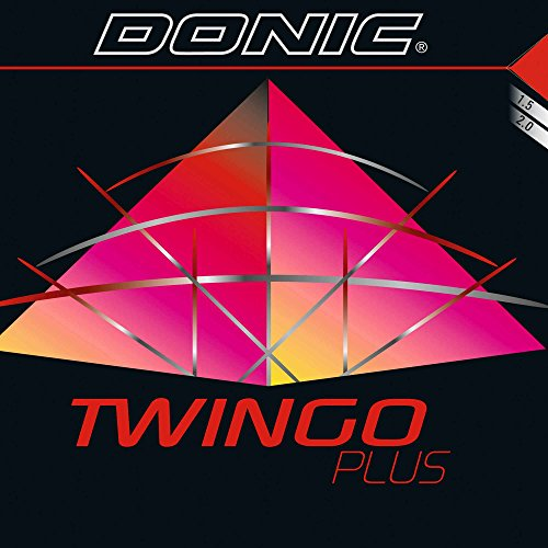 DONIC Belag Twingo Plus Optionen 2,0 mm, rot