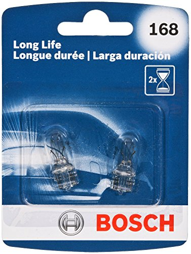 Bosch 168 Long Life Upgrade Minature Bulb, Pack of 2