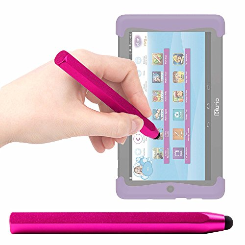 DURAGADGET Lápiz Stylus Rosa para Cefatronic - Tablet Clan Motion Pro - ¡Ideal para Mejorar La Precisión En Su Pantalla