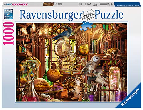 Ravensburger Puzzle 19834 - Merlins Labor - 1000 Teile Puzzle für Erwachsene und Kinder ab 14 Jahren