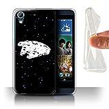 Stuff4 Phone Case for HTC Desire 626 Empire Galaxy Wars