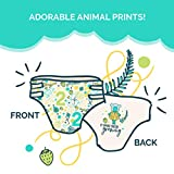 Seventh Generation Baby Diapers for Sensitive Skin, Animal Prints, Size 2, 36 Count