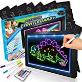 Amazola AM-102 Drawing Board, Art Kit for Kids, Comes with Remote Control and 10 Comes with 10 Stencils